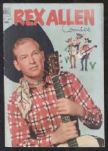 Rex Allen # 4 Comic book 1952.
